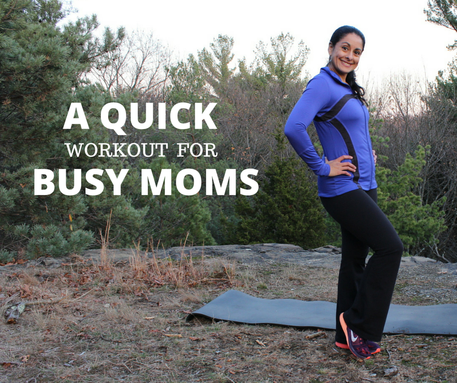 workout for busy moms