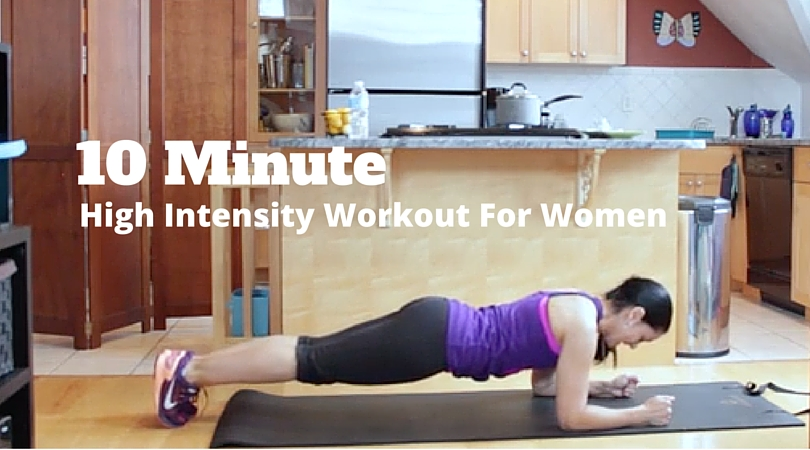 10 Minute workout for women